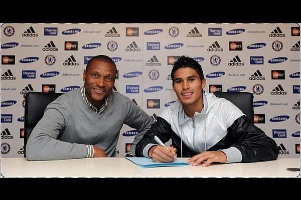 Ulises Dávila firmó por 5 temporadas con el Chelsea