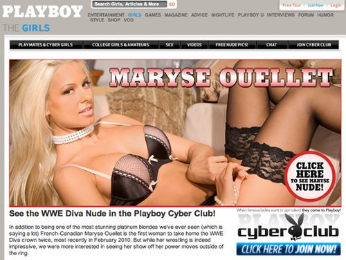 Maryse-playboy