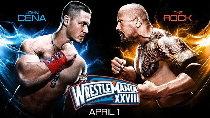 The Rock Vs John Cena El Rompe Huesos