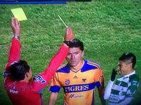 La doble tarjeta de Marco Rodríguez