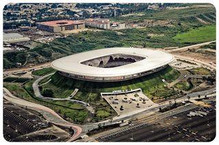 El Estadio Omnilife, en Guadalajara