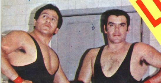 Luchadores Los Infernales Trío de Los Infernales
