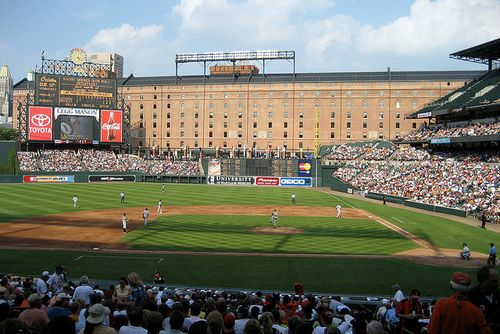 Camden yards FLICKR