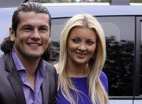 Haedo y su esposa Martynka