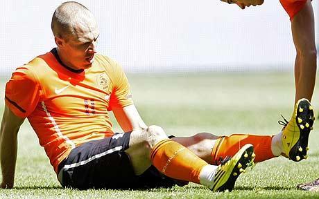 Robben, con Holanda