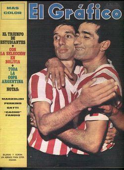 Estudiantes, con Bilardo y Bruja Verón en la cancha, venció a Toluca en la Interamericana 1969