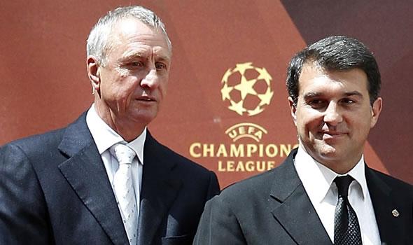 Cruyff y Laporta