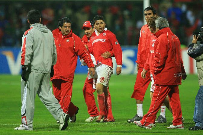 Carlos Adrián Morales buscó pleito en la eliminación ante Colo Colo