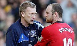 David Moyes y Wayne Rooney