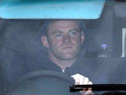 Rooney, el jueves a su salida de Carrington