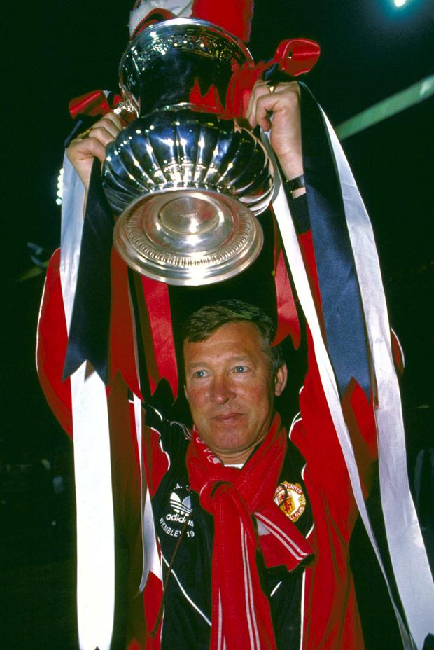 La Copa FA 1990 fue el primer título de Ferguson con el ManUnited