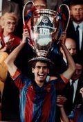 El Barcelona ganó su primera Orejona en Wembley con Guardiola como jugador