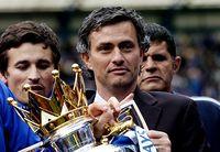 Mourinho ganó la Liga Premier en su primera temporada con el Chelsea, en 2004-05