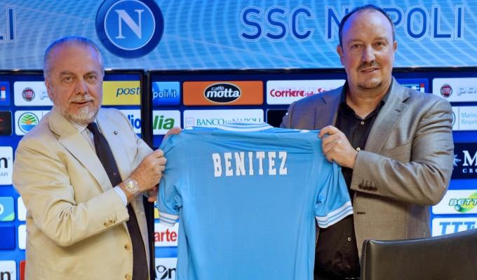 Benítez presentado por el Napoli