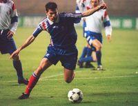 Zidane en la Sub 21