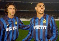 Andrea Pirlo y Ronaldo